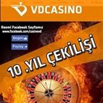 VDCasino 10. Yıl Çekilişi İle 55000TL Kazandırıyor