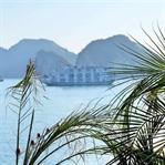 Auf der Dschunke durch die Halong Bucht