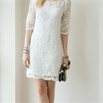 Beyaz Elbise İle Yapılabilecek Kombinler