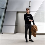 Casual Look: Acne Studios Statement Sweater