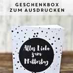 Geschenkboxen zum Ausdrucken
