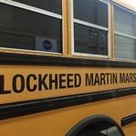 Mars Ortamı Sunan Okul Otobüsü