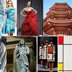 Sanatın modaya ilham vermesiyle oluşturulmuş stil