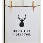 """İskandinav Dekorasyon : """"Oh My Deer"""""""