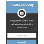 Blogger İçin Mail Takip Eklentisi
