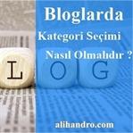 Bloglarda Kategori Seçimi Nasıl Olmalıdır ?
