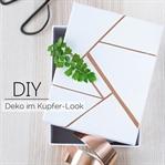 Einfache DIY Deko mit Kupferschneckenband