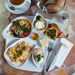 Frühstücken beim Wienerroither