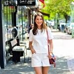 Ganz in weiß - All White Summer Look