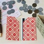 Origami Papierhülle für Kreditkarten