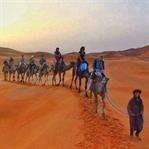 Sahra Çölünde Bir Seyyah