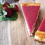 Vazgeçilemez lezzet: Çilekli Cheesecake