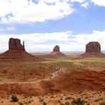 Yee-haw im Monument Valley