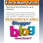 Blogger Öne Çıkan Yayınlar Eklentisi