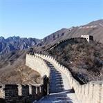 Die große Mauer in Mutianyu - beeindruckend