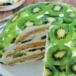 5 Çayı Tatlıları: Kivili Kümbet Pasta