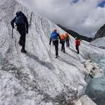 Das erste Mal auf dem Gletscher