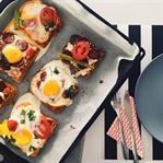 Kahvaltılık Tarifler / Yumurtalı Yalancı Pizza