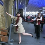King's Cross Station'da Harry Potter Olmak