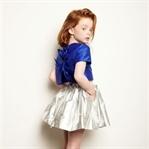 Kız Çocukları İçin Pırıltılı Kıyafet Modası