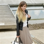 Outfit: Rocking Midi-Skirt
