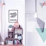 Wohnzimmer Inspiration – Weinkisten-Regal mit Deko