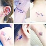 Anlamları ile Kızlar için Küçük Dövmeler