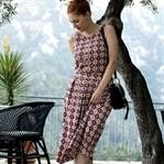 Crop Top, Midi Skirt & Hudson Bag