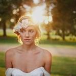 Kumsal Düğünleri İçin Saç Aksesuarları