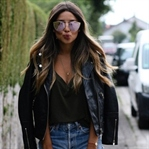 LEATHER JACKET, QUAY SHADES & SUMMER IT-PIECE