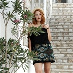 turquoise and black - ein Sommernachtslook