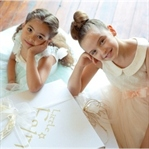 4-12 Yaşarası Kız Çocukları İçin Özel Gün Elbisesi