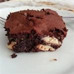 Beyaz Çikolatalı Browni