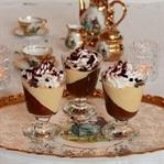 Çikolata ve Vanilyalı Puding