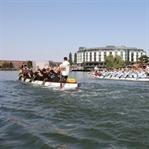 Drachenboot-Rennen in Wolfsburg