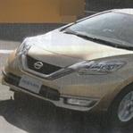 Makyajlı Nissan Note Yakalandı