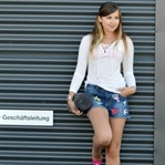 Outfit: Summer in Pink, Shorts & with melon
