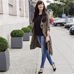 Pre Fall Look – Safari Style – khaki Coat