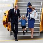 Prens William Kate Kanada Seyahati