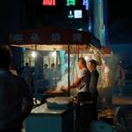 Auf dem Nachtmarkt in Bangkok