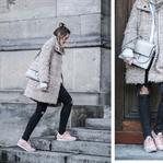 Coat w/ Chloé Faye & Reebok Classic