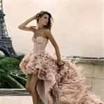 En Tarz Kısa Gece Elbisesi Modelleri