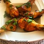Fırında Çıtır Tavuk Baget