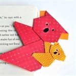 Koala Origami - Lesezeichen