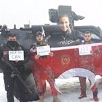Milli Sporcu Derya Can'dan Özel Harekata Özel Jest