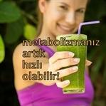 Metabolizma Hızlandıran Yeşil Detoks Tarifi