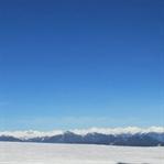Nassfeld Winterwanderwege: Sonne ganz oben