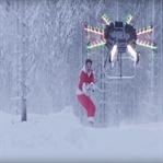 İnsan Taşıyabilen Özel Yapım Drone [Video]