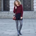 Outfit: Michael Kors saddle bag, Shorts & Pumps