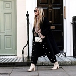 Pearl Embellished Pants in London.
